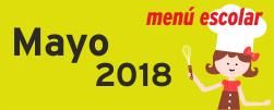 Menú Mayo 2018