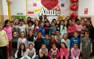 Annie, el musical. Proyecto de 4º de Primaria.