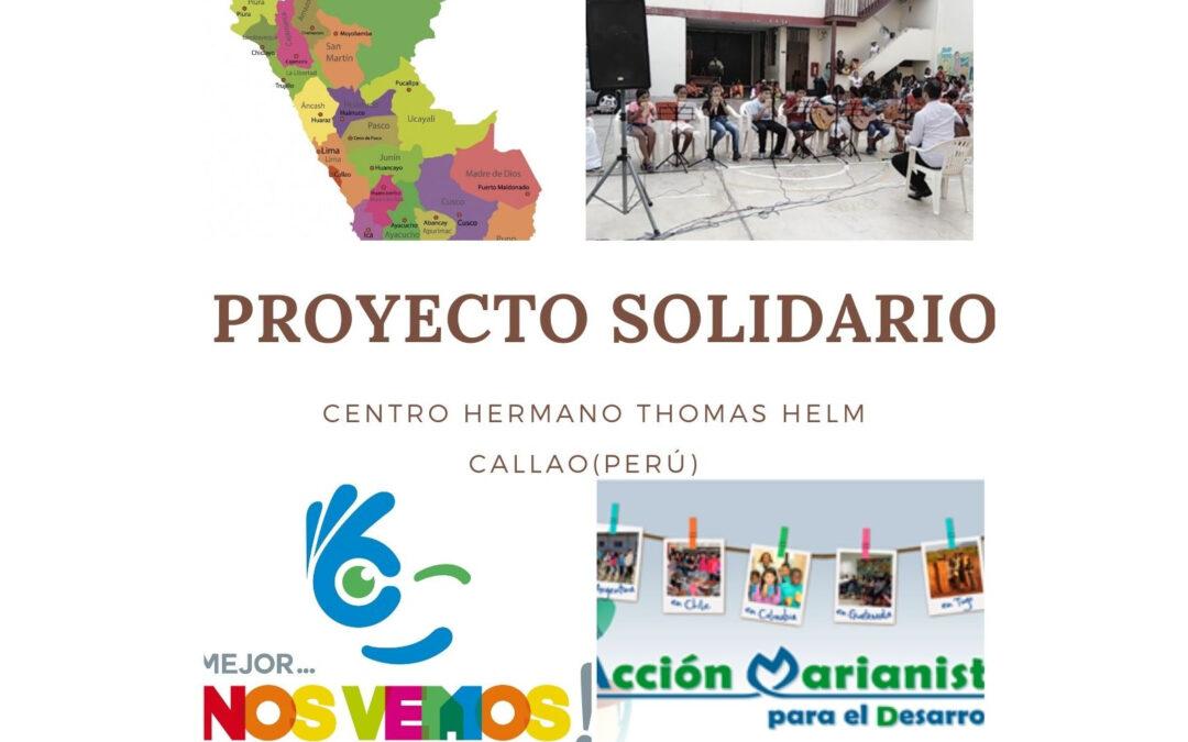 Proyecto de solidaridad Centro Hermano Thomas Helm